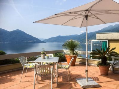Photo for Apartment Sollevante (Utoring) in Ascona - 4 persons, 1 bedrooms