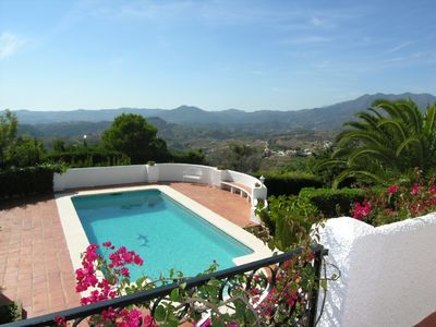 Photo for Beautiful 3 bedroom villa with large private pool near Mijas. Sleeps 6.