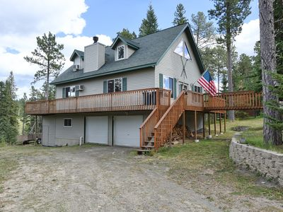 Photo for 3 BR Home on Acreage! Minutes to Skiing, ATV/Snowmobile Trails, and Deadwood!