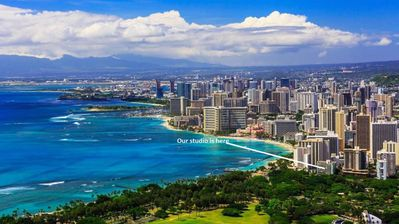 Photo for Amazing:  Diamond Head ~ Ocean View and Only Steps to the Beach