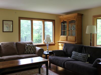 Photo for 3 bedroom mountain getaway 10 minutes from Okemo and 30 minutes from Killington.