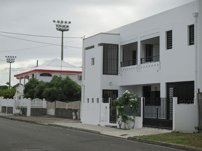 Photo for Studio in a designer house in Port-Louis, Guadeloupe (nearest beach).