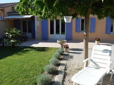 Photo for Quiet, nice house and garden 5 minutes walk from the city center