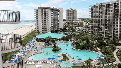 Photo for Oceanfront! 3BD/3BA! Beach Chairs Included! Come Stay At Your Tropical Paradise!