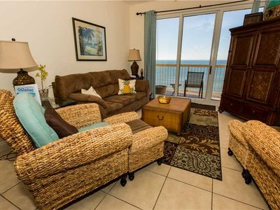 Photo for Enchanting Unit Featuring Tropical Furnishings And Updated Kitchen With Ocean View