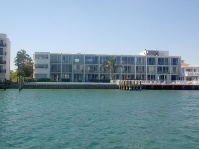 Building from water side