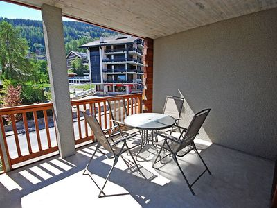 Photo for Apartment in the center of Nendaz with Internet, Lift, Parking, Terrace (37483)