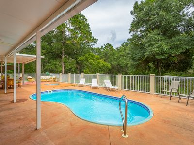 Photo for Lighthouse- Large beautiful home, with Pool, Hot tub, Private, large yard, and Game room.