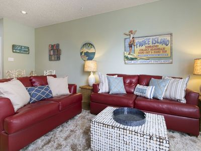 Photo for Beautiful 1st floor condo in the beach club.  Walking distance to the beach.