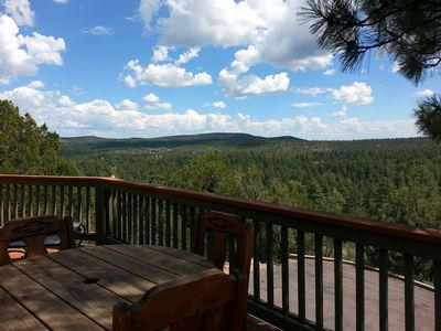 A Beautiful Summer Day.  Elevation = 5400' .., National Forest 5 min drive.