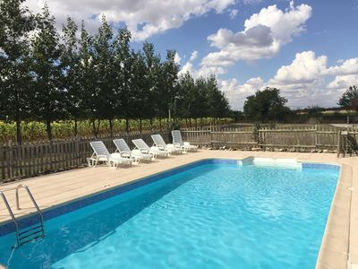 Photo for 4BR Barn Vacation Rental in Hanc, Nouvelle-Aquitaine