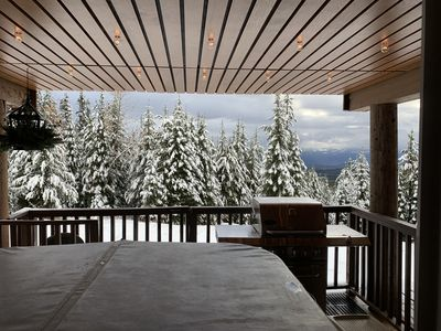 Photo for True ski in/ski out, private hot tub 3 bedroom