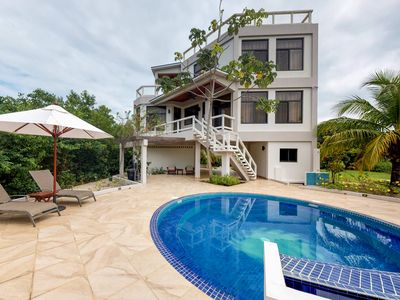 Photo for Stunning Placencia getaway with private pool & gorgeous outdoor spaces!