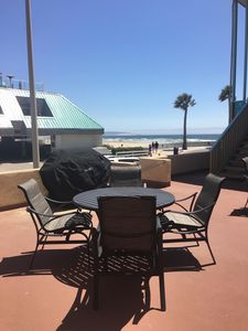 Photo for Ten Steps to the Beach.  Gorgeous Views! Lower Level Two Bedroom Two Bath Condo