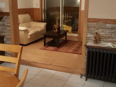 Photo for Large condo 10 minutes from Valcartier Vacation Village, snowmobile, CFB Valcartie