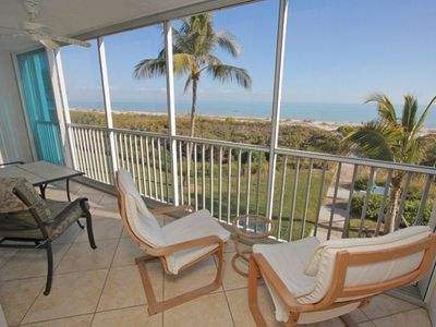 Photo for Sanibel Surfside #114: Immaculate Condo w/ Direct Gulf Front Expansive Views!