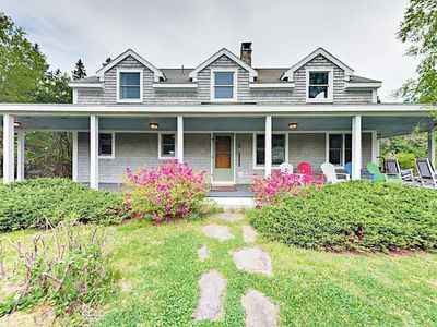 Photo for 3 BR on 35 Acres with Movie Theater -- Minutes to Acadia National Park