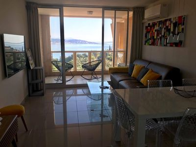 Photo for Beautiful sea view apartment at the foot of the Esterel