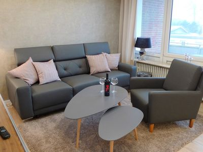 Photo for Beautiful apartment for 3 guests with TV, balcony and parking