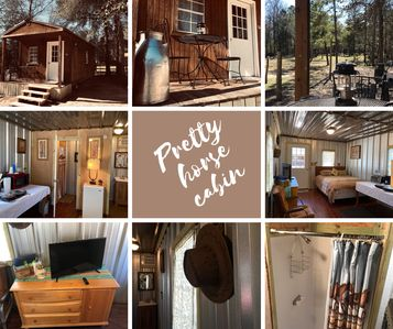 Photo for Pretty horse cabin in the woods