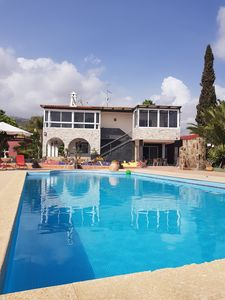Photo for Welcome to Paradise! Ideal for multiple families, Private Pool, BBQ House, Wifi