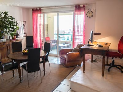 Photo for BAZACLE - grand appartement tout confort 2 chambres et Parking proche centre