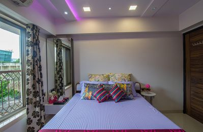 Photo for Private Bedroom in Designer Apartment, Close to Airport & Metro