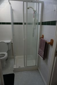 Shower in the en-suite bathroom attached to master bedroom.