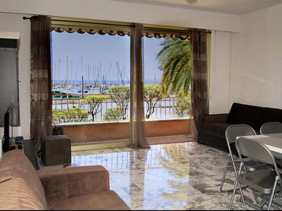Photo for Large bright studio 8 minutes walk from the beach - Menton
