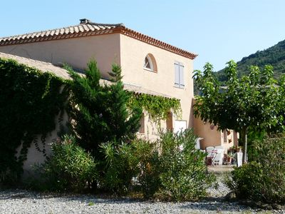 Photo for Beautiful villa in the Corbières ideal for 2 families, Near Carcassonne