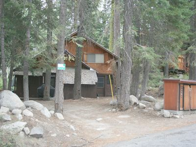 Photo for 3 bedroom, 1 bath, sleeps 9. West End of Donner Lake: DLR#019