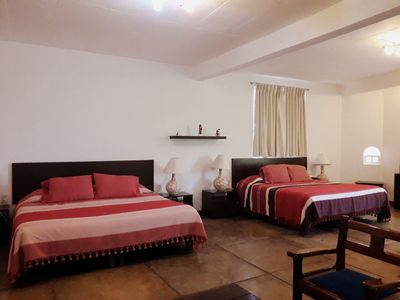 Photo for VILLA OAXACA: LOVELY ACCOMMODATION AND OUT OF THE CONVENTIONAL.
