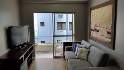Photo for PRETTY!!! Apartment with 1 bedroom, 50m from the beach - Renovated and with garage!