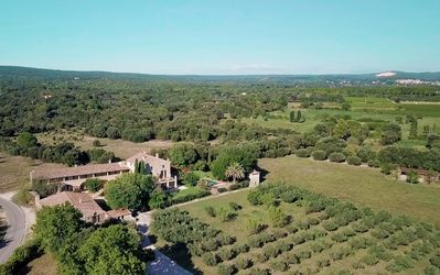 Photo for Large Mas from the XVI century, with 10 bedrooms, in a beautiful private olive grove
