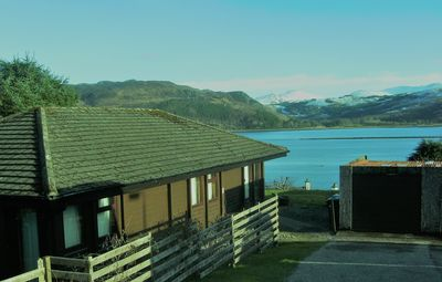 Photo for ROBIN LODGE   2020 Summer book now, 2019 Winter Lochcarron nr. Skye. Route 500.