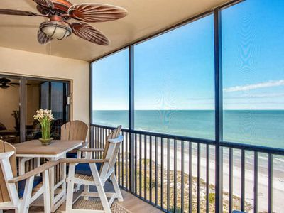Photo for Direct Beachfront Condo/Spectacular Gulf Sunsets! NEWLY RENOVATED.