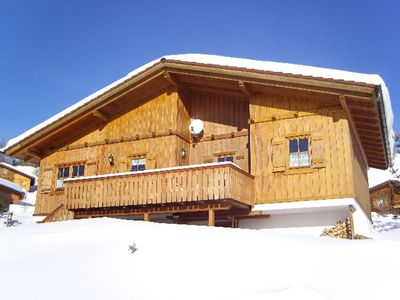 Photo for Cosy chalet with sauna, fireplace - fully equiped, 1800 m above sealevel
