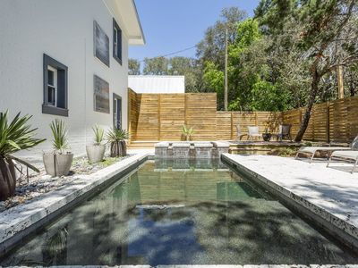 Photo for Private HEATED Pool  - 5 Bikes Next Door to Seaside - `S.S. Dogwood`