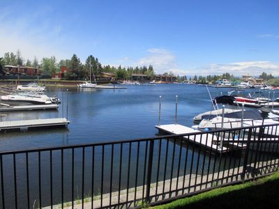 Photo for NEWLY REMODELED -Tahoe Keys 3BR-3BA Condo on Water. Private Boat Dock