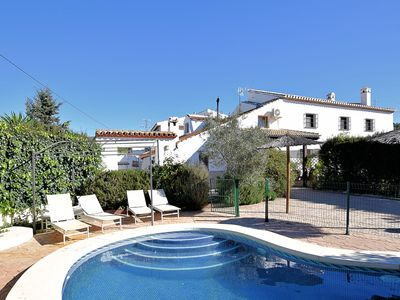 Photo for Andalusian farmhouse with private pool and enclosed garden suitable for children