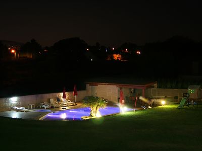 Photo for VILLA WITH POOL, JACUZZI, PLAYGROUND, BARBECUE ..