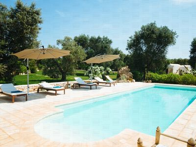Photo for Trulli Geco Sognante: Countryside Trulli with Pool