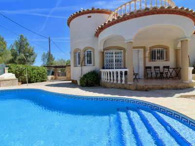 Photo for Recent house with private pool, not overlooked, free wifi, beaches at 3,8km