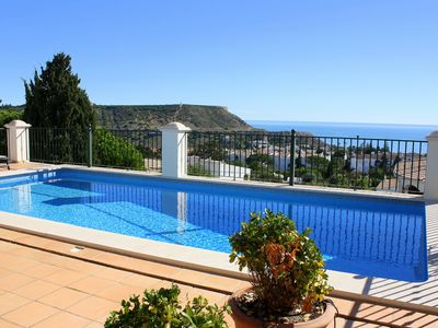 Photo for Stunning Detached Villa With Private Pool, Fabulous Sea Views, Walk To Beach!