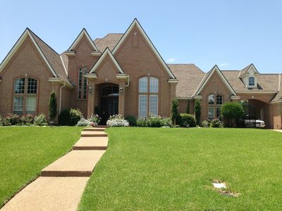 Photo for Beautiful home near DFW 3/2 plus office and saltwater pool