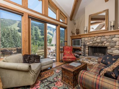Photo for Charming Ski & Summer Condo, Walking Distance To Warm Springs Ski Lift