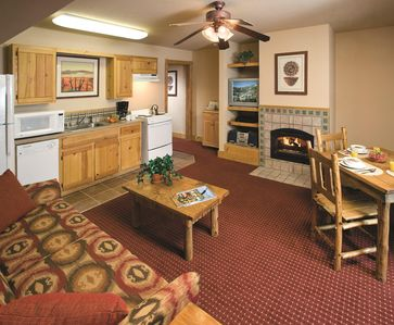 Photo for New Mexico, NM: 1 BR w/Fireplace & WiFi, Ski-In/Ski-Out Resort, Near Red River