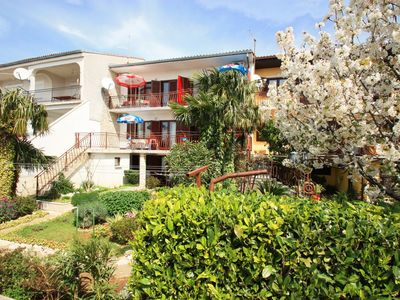 Photo for Holiday apartment with air, satellite TV, Internet and sea view