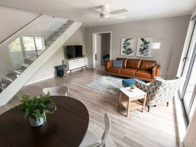 Photo for Modern Coastal Condo Located Downtown Saugatuck with Spacious Rooftop Patio