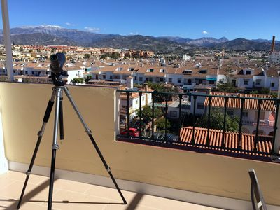 Photo for Apartment in the center of Torre del Mar with stunning views from a large terrace